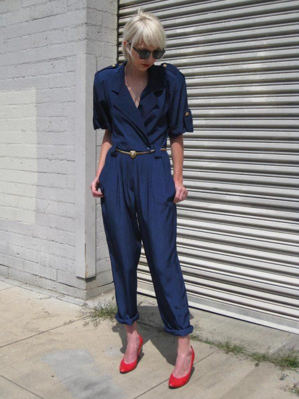 blauer vintage jumpsuit