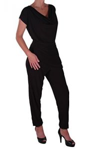 Eyecatch-Brooke-Damen-Casual-alle-in-einem-Jumpsuit-Kurzer-Overall-Hosen-Top-Plus-Size-Gr-42-0-2