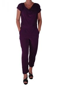 Eyecatch-Brooke-Damen-Casual-alle-in-einem-Jumpsuit-Kurzer-Overall-Hosen-Top-Plus-Size-0