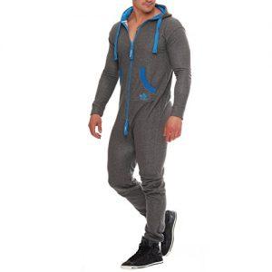 90D5-Finchman-Herren-Jumpsuit-Funky-Jogging-Anzug-Overall-Darkgrey-Blau-GrS-0