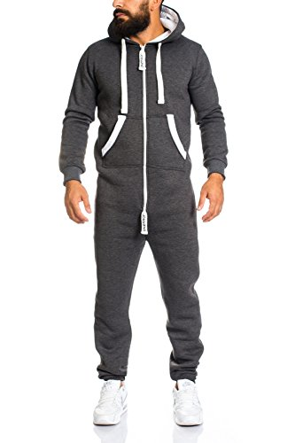 lorenzo loren herren jogginganzug jumpsuit jogger. Black Bedroom Furniture Sets. Home Design Ideas