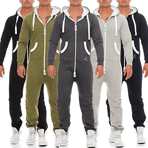 farblich passend erstaunlicher Preis weltweit bekannt PRINZ LUIS Herren Jumpsuit Jogger Jogging Anzug ...